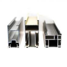 La porte en aluminium de surface anodisée par OEM profile 6063 T5