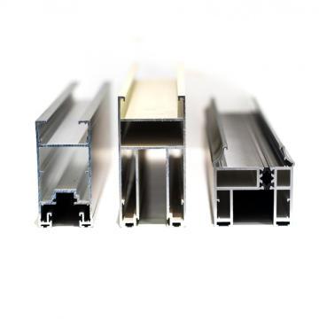 Perfis de porta de alumínio de superfície anodizada OEM 6063 T5