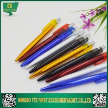 Очень дешевая металлическая ручка с логотипом для продвижения