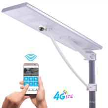 Встроенный уличный фонарь на солнечных батареях мощностью 180/200 Вт с мониторингом