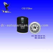 Filtro de óleo automático e filtro de óleo Mercedes Filtro de óleo e Benz 001 184 47 25