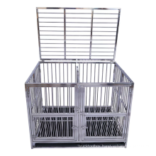 Foldable Customize Stackable Small Pet Cage for Sale Best Quality 304 Stainless Steel Pet Sleeping Wooden Case All Seasons