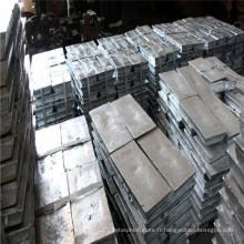 Lme Registered Zinc Ingot 99.7% avec prix concurrentiel à vendre