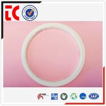 China OEM blanco redondo de aluminio marco de la lámpara de fundición