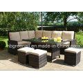 Nueva tabla de la rota del ocio del diseño que fija los muebles al aire libre