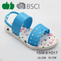 2016 New Design Beautiful Printed Girl Summer Sandals