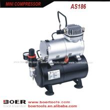 Mini Compressor de Ar com tanque de 3L