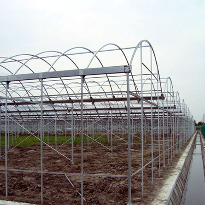 Pc Board Multi Span Greenhouse Frame