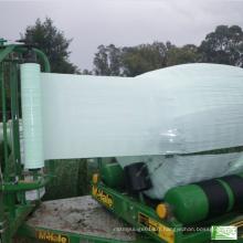 Ensilage d'ensilage en plastique transparent