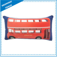 London Bus Printed Polyester Throw Pillow