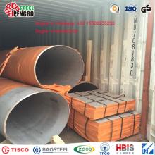 Tubería de acero inoxidable dúplex S31803 con Ce