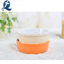 Wholesale Different Color Pet Feeder Ceramic Bowl