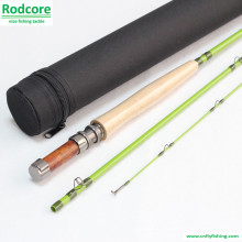 Grünes Blatt Gr663-3 Qualität gemachtes klassisches Fiberglas-Fliegen-Rod