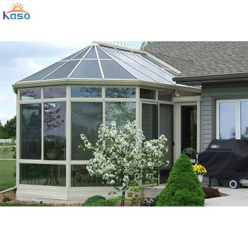 Luksusdesign Aluminium balkong glass Sunroom kabinetter