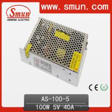Mini fuente de alimentación de la salida de la sola capacidad del tamaño de Smun 100W 2 años de garantía con el CE RoHS aprobado