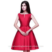 Wholesale Short Cheap Bridesmaid Dresses 2016 Satin Evening Dress with Pleats Women Prom Dresses LBB02
