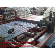 PVC transparent roof machine-PVC tile extrusion line