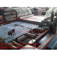 Linha de extrusão de telha de PVC transparente máquina-PVC