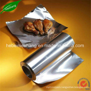 Food Wapping Paper Aluminum Foil Roll Container Foil