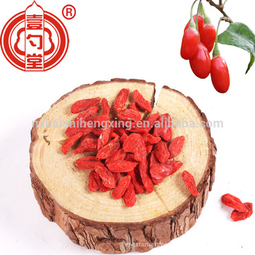 2017 new bright color big grain organic died goji berries with TC freely