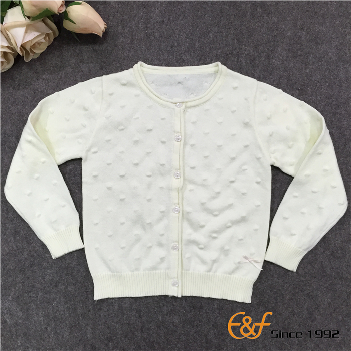 Girl Tuck Stitch Sweater