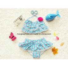 Blue Little Girls Kids Fashion Swimsuit