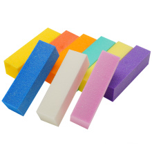 Professional wholesale manufacturer 4 side sanding nail buffer sponge sanding block nail file