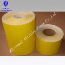 E paper diamantane yellow sand paper roll
