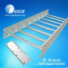 Duto da escada do cabo galvanizado de Electro Zin (UL, cUL, NEMA, GV, CEI, CE, ISO testado)