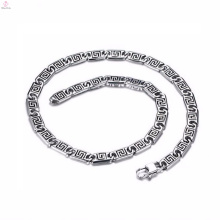Fashion Trends New Model Silver Chain Necklace Bracelet Jewelry Set