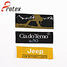 Directly Factory Customized Woven Label, Like Main Label/Neck Label with Exquisite Artwork and Woven Patch