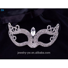 Wholesale crystal kids masquerade masks with stone, cheap party masks