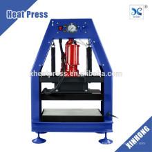 FJXHB5-N1 12Tons Presión neumática hidráulica hidráulica de la resina 8x10