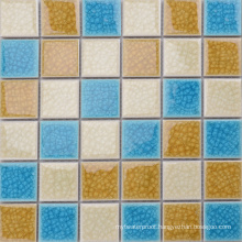 Foshan Wholesale Mixed Color Ice Crack Ceramic Mosaic Tile Manufacturers