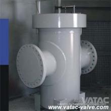 Чугуна и литой стали дюймов и классом давления cl150 по ANSI 300 600 фунтов из ss304/ss316 продает Т Т фильтр ситечко