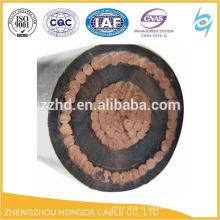 O condutor concêntrico de NYCWY / NYY cabografa o fio de cobre revestido do PVC para o transformador