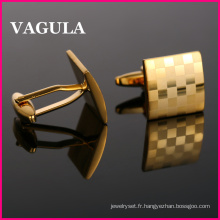 Liens de manchette or Laser haute qualité VAGULA (HL10169)