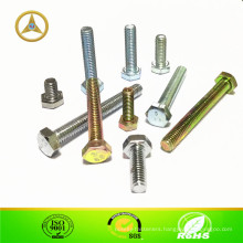 Flat Head Hexagonal Bolt M6X8 ~ M6X50