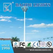 Torre de iluminación de mástil alto poligonal de 25 m (BDG25)