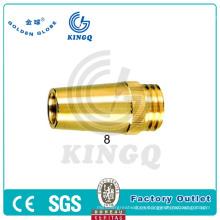 Tweco Mag Gmaw Weld Solda Pistola de alambre con accesorios de la planta, boquilla de gas