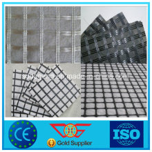 Geogrel de fibra de vidrio compuesto con geotextil con CE