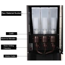 Sapoe Ecran LCD 7 pouces Machine à café entièrement automatique automatique Sc-7903ptd