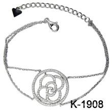 Bijoux en diamant de mode 925 en argent (K-1908. JPG)