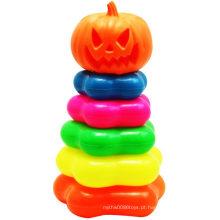Anel de retenção de abóbora Halloween Folding Jenga Toy