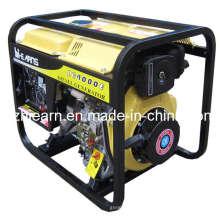 Groupe électrogène diesel à refroidissement par air à cadre ouvert (DG4000E)