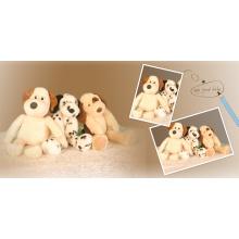 Симпатичные плюшевые игрушки для собак
