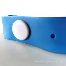 Blue One-time use tourniquet Hole button 25*400*0.635MM