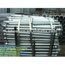 ball handrailing for industry ladder