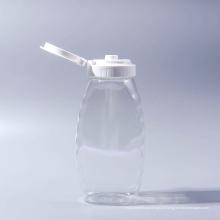 500g / 360ml Garrafa Garrafas de mel de abelha plástico garrafas de geléia Garrafa de mel de estimação Garrafa de ketchup garrafa de maionese com tampas de válvula de silicone (EF-H02500)