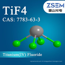 Titanium Tetrafluoride  CAS: 7783-63-3 TiF4 Purity 98.5% For Microelectronics industry application